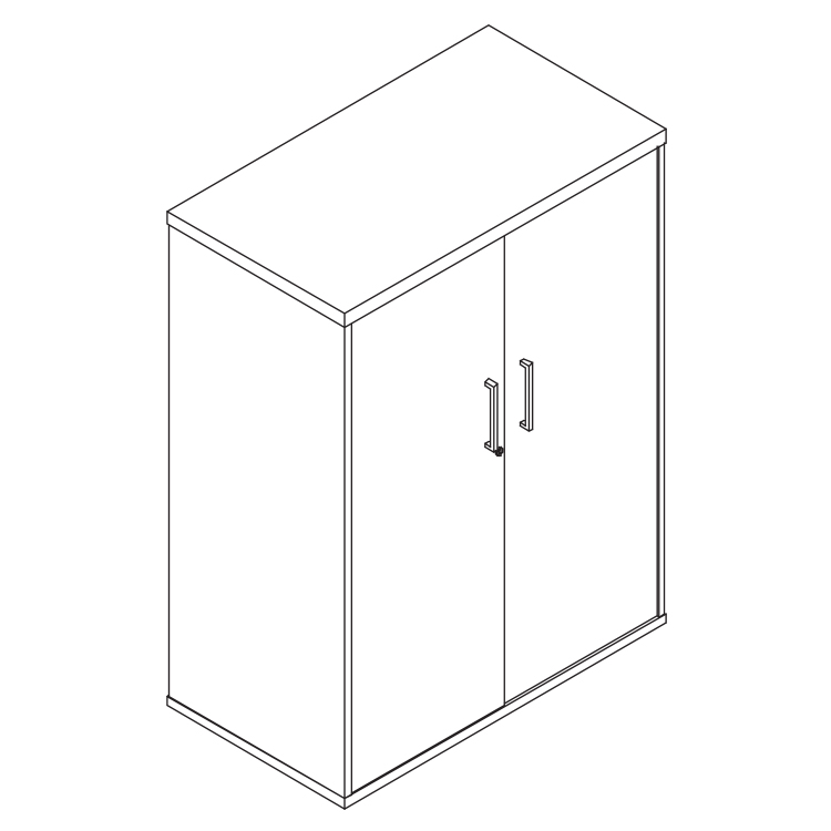 hinge door cabinet