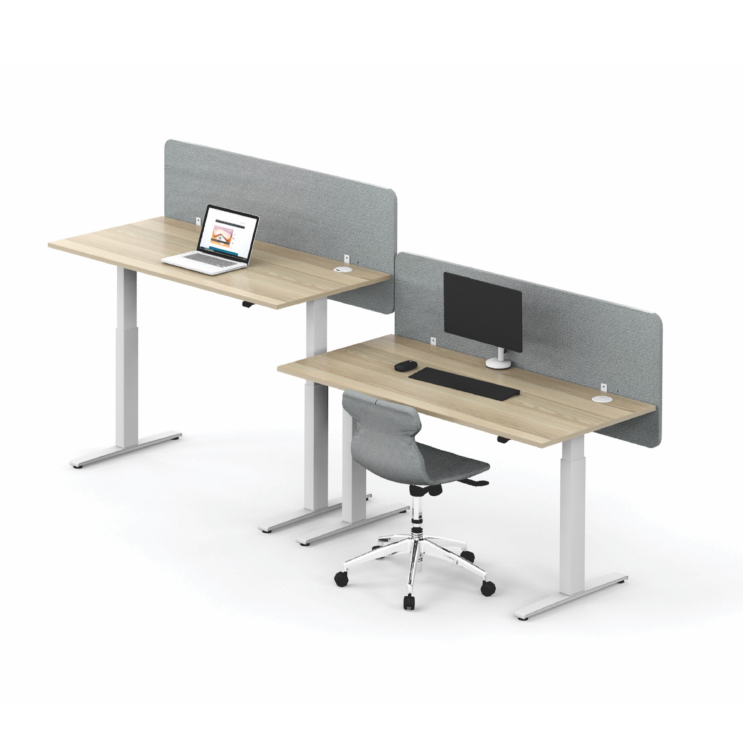 Height adjustable standing systems desk