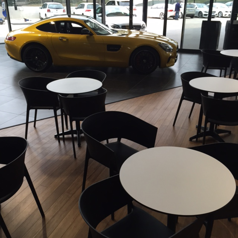 Mercedes dealership rollout
