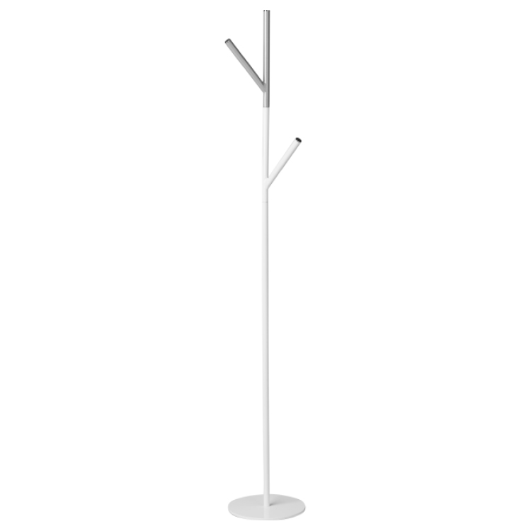 Y-shaped white coat stand