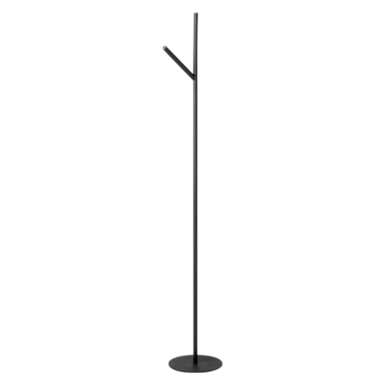 Y-shaped black coat stand