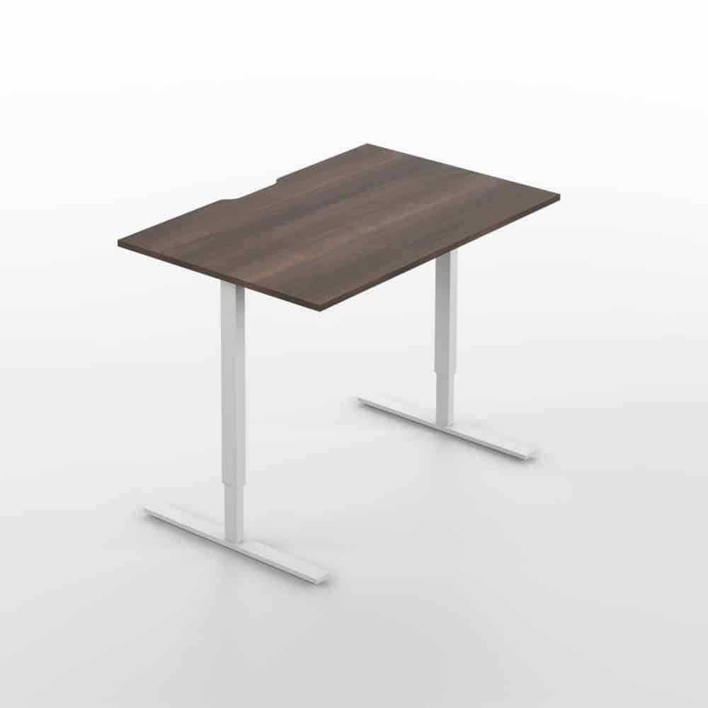 Up Down Desk American Walnut