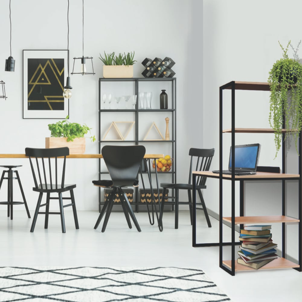 Office chill area with chairs and tables interior design for Ukhuni