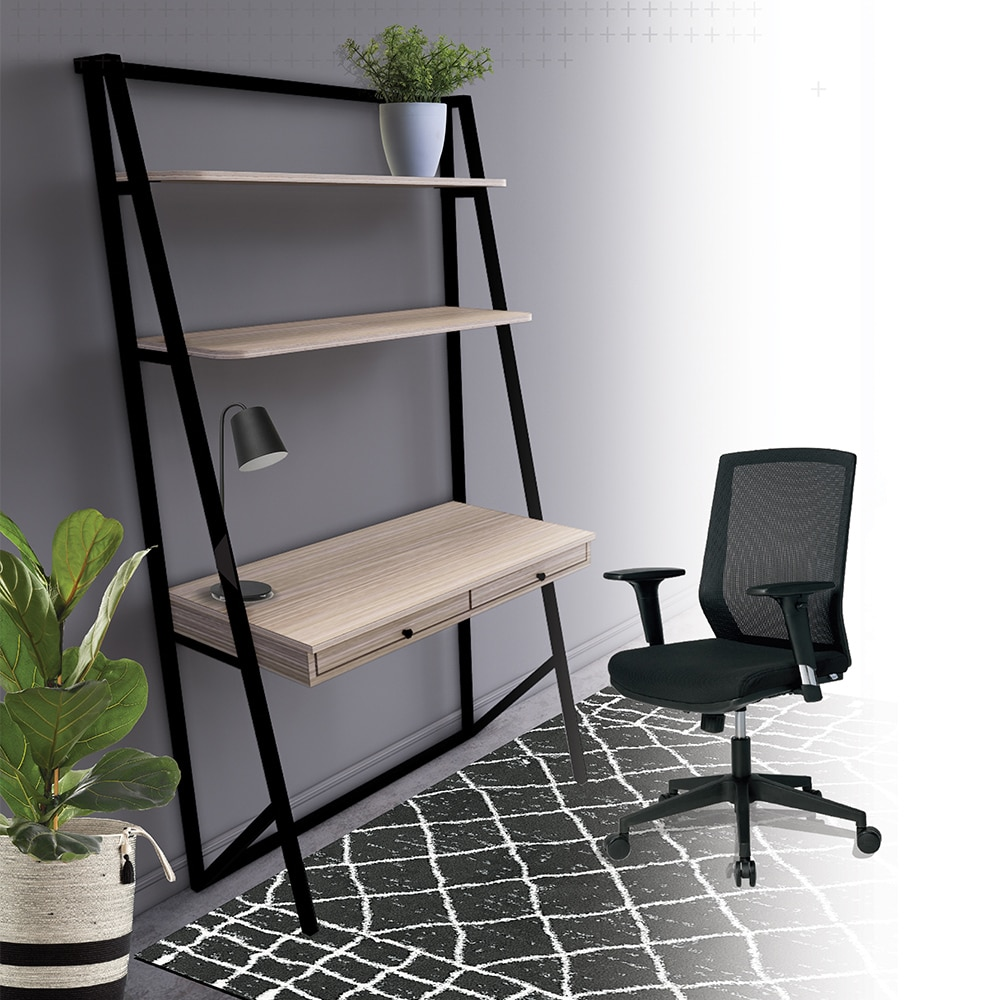 Home office stand with drawers and a chair for Ukhuni